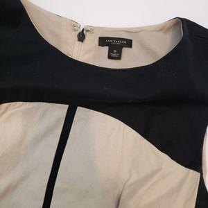 Ann Taylor Colorblock Sheath Dress